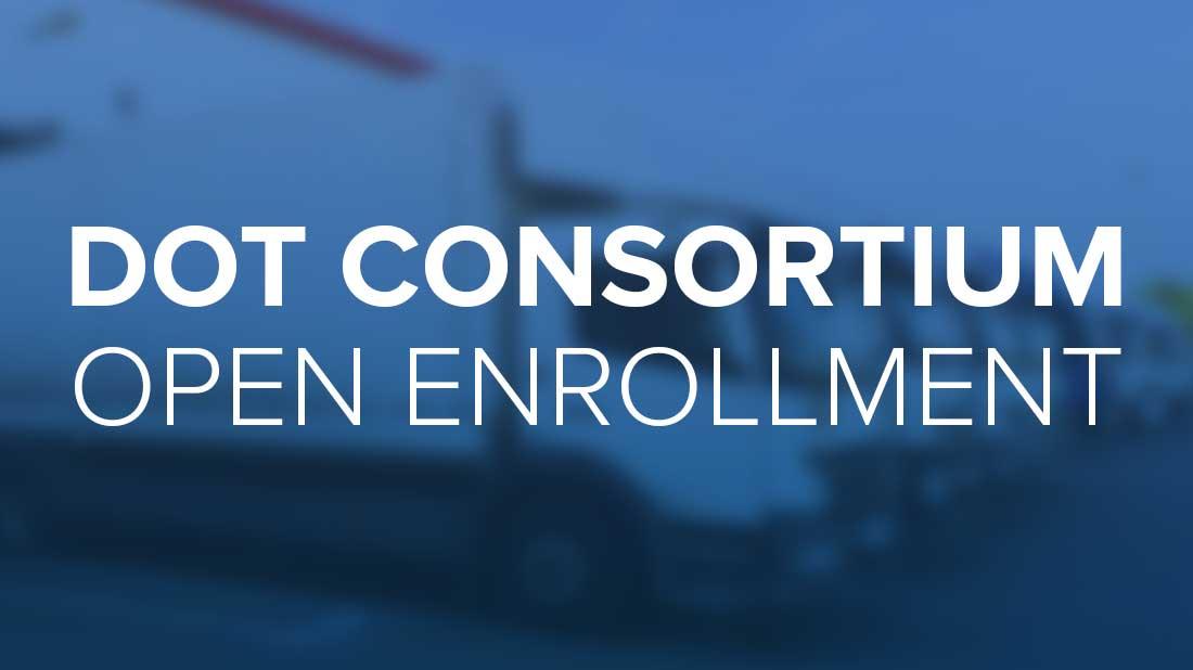 Explore DOT Consortium Open Enrollment